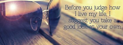 Before You Judge Me Fb Cover Facebook Covers